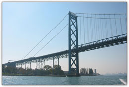 Ambassador Bridge - Cross Border Transport