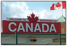 Welcome to Canada - Cross Border Transport